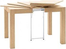 Tavolo Allungabile quadrato legno 90
