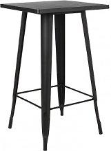 Tavolo alto quadrato in metallo (60x60 cm) LIX