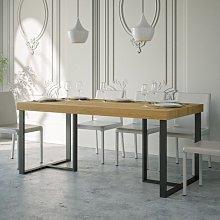Tavolo Apollo rettangolare legno quercia natura