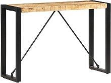 Tavolo Consolle 110x35x76 cm in Legno Massello di