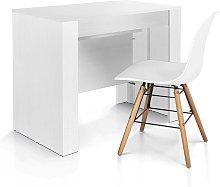 Tavolo consolle allungabile | Bianco