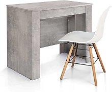 Tavolo consolle allungabile | Grigio Beton