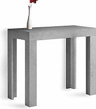 Tavolo CONSOLLE ALLUNGABILE Modello ATENA Cemento