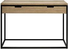 Tavolo Consolle industriale con cassetto Icub –