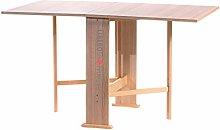 Tavolo consolle richiudibile pieghevole in legno