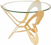 Tavolo contemporaneo originale Ninfa Oro - Arti E