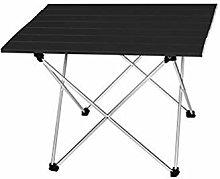 Tavolo da campeggio portatile in alluminio