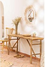 Tavolo da esterno in bambù (140x40 cm) Marie