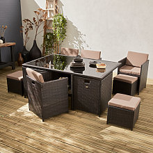 Tavolo da giardino 6-10 posti - Vabo - Colore