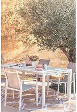 Tavolo Da Giardino Rettangolare In Alluminio