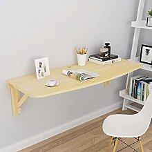 Tavolo da Muro Pieghevole,Legno Solido,Desk