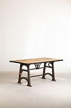 Tavolo da pranzo allungabile in legno (184-236x91