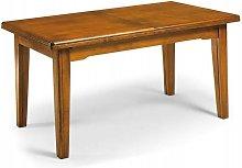 Tavolo da Pranzo Classico Allungabile in Legno