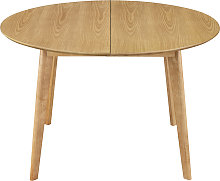 Tavolo da pranzo design rotondo allungabile