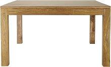 tavolo da pranzo quadrato in massello di legno di
