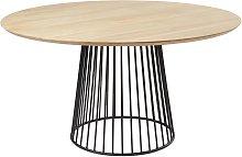 Tavolo da pranzo rotondo 4/6 persone in legno di