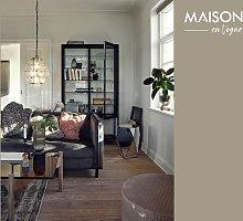 tavolo da salotto in legno e vetro ambra