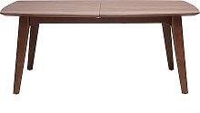 Tavolo design allungabile noce L180-230 FIFTIES