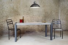 Tavolo in teak in stile vintage