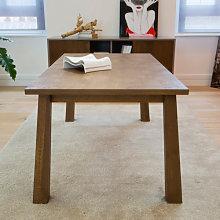 Tavolo moderno allungabile in legno
