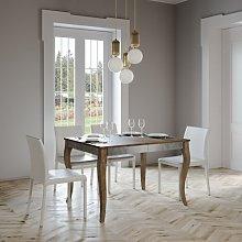 Tavolo Olanda Iron allungabile rettangolare legno