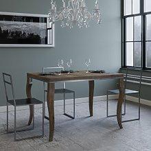 Tavolo Olanda Libra allungabile rettangolare legno
