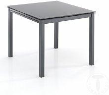 tavolo quadrato allungabile NEW DAILY 90 GREY