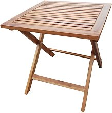 Tavolo Quadrato Pieghevole Da Giardino 50x50 Cm In