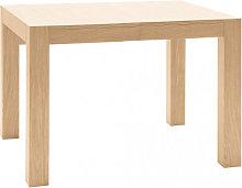 Tavolo rettangolare allungabile in rovere