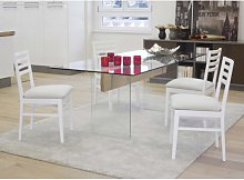 Tavolo rettangolare vetro