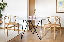 Tavolo rotondo in marmo Grimaud