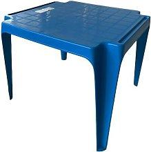 Tavolo Tavolino da gioco per Bambino Colore BLU in