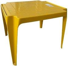 Tavolo Tavolino da gioco per Bambino Colore GIALLO