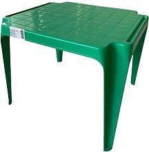 Tavolo Tavolino da gioco per Bambino Colore VERDE