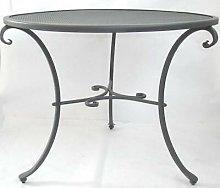 Tavolo tavolino in ferro battuto dCm120 h76 tavoli