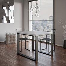 Tavolo Tecno Libra allungabile quadrato legno