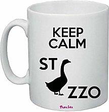 Tazza Ceramica 8x10 Scritta Simpatica Keep Calm