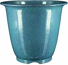 TBUDAR Vasi di Fiori Blue Ceramica Flower Flower