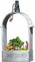 TBUDAR Vasi di Fiori Cornice per Piante in Vaso da