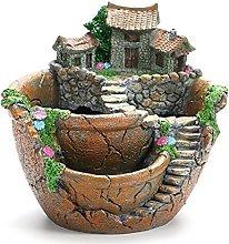 TBUDAR Vasi di Fiori Creative Garden succulente