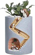 TBUDAR Vasi di Fiori Mini Resina Succulente Vaso
