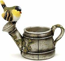 TBUDAR Vasi di Fiori Piccolo Uccello succulente