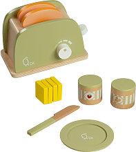 Teamson Kids - Tostapane in legno con accessori