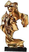TEAYASON Coppia Statua Amanti Decorativi Arte