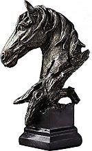 Teayason Ornamenti Decorativi Cavallo Scultura