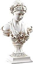 TEAYASON Ornamenti Decorativi Resina Ritratto
