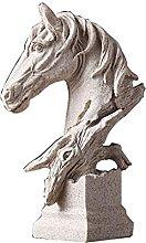 TEAYASON Ornamenti Decorativi Scultura Cavallo