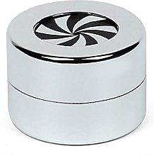 Teayason, scatola rotonda girevole per anelli, in