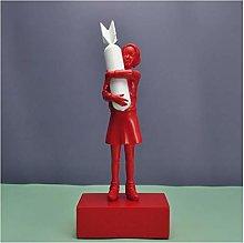 Teayason scultura bomba ragazza moderna scultura