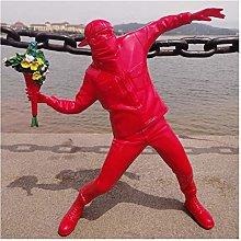 Teayason scultura creativa inglese street scultura
